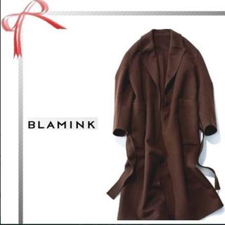 ドゥロワー(Drawer)の2019aw blamink 最高級 カシミヤ ダブルフェイス コート(ロングコート)
