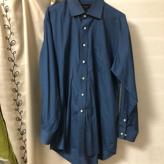 ジョンローレンスサリバン(JOHN LAWRENCE SULLIVAN)のused closing ブルー オーバーシャツ(シャツ)