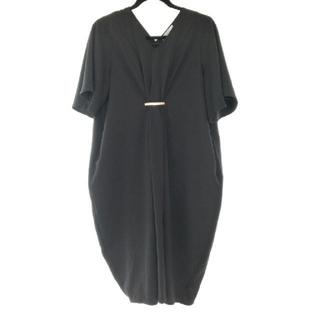 ショコラフィネローブ(chocol raffine robe)のショコラフィネローブ ワンピース 黒 フリーサイズ(ひざ丈ワンピース)