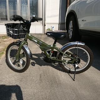 ジープ(Jeep)のJEEP キッズ自転車 16インチ(自転車)