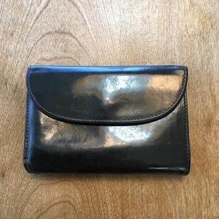 ホワイトハウスコックス(WHITEHOUSE COX)のWhitehouse Cox ホワイトハウスコックス 三つ折り財布 濃紺&茶(折り財布)