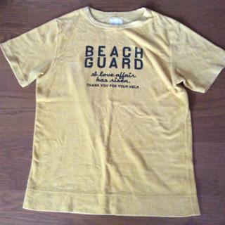 フェリシモ(FELISSIMO)のパイル風Tシャツ (Tシャツ/カットソー(半袖/袖なし))