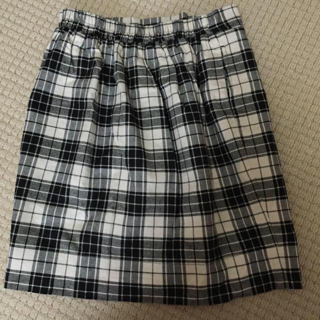 RayCassin(レイカズン)のRAYCASSINチェックタイトスカート レディースのスカート(ひざ丈スカート)の商品写真