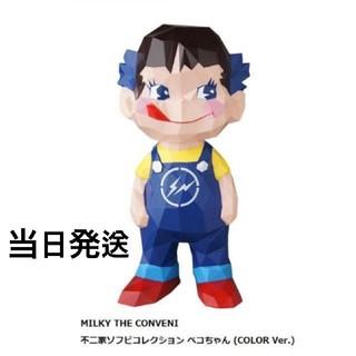 フジヤ(不二家)のMILKY THE CONVENI 不二家ソフビ ペコちゃん COLOR(キャラクターグッズ)