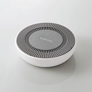 エレコム(ELECOM)のエレコム 冷却ファン搭載Qi規格対応ワイヤレス充電器 W-QA06WH ホワイト(その他)