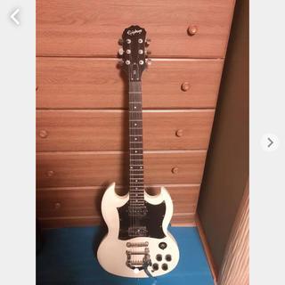 エピフォン(Epiphone)のエレキギター EPIPHONE SG ホワイト(エレキギター)