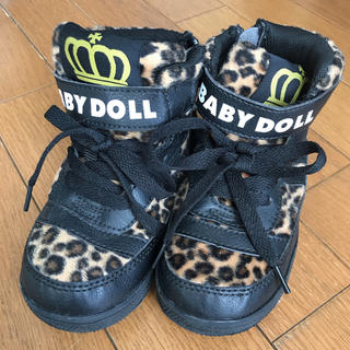 ベビードール(BABYDOLL)の新品未使用 ベビードール ベビド  靴 ブーツ レオパード  レオパ 16 (ブーツ)