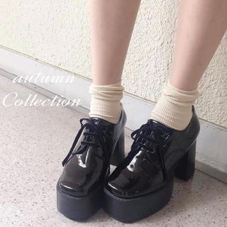 エブリン(evelyn)の【evelyn】オリジナル2wayレースアップシューズ(ローファー/革靴)