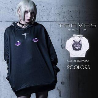 フーガ(FUGA)のTRAVAS TOKYO Cat Eye Hoodieプルオーバー(パーカー)