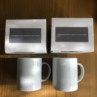 ルイヴィトン(LOUIS VUITTON)のLOUIS VUITTON ペアマグカップ(グラス/カップ)