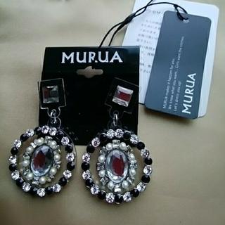 ムルーア(MURUA)の⭐新品未使用⭐MURUAピアス(ピアス)