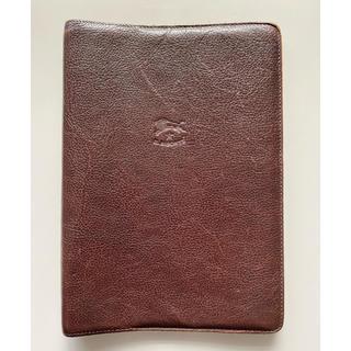イルビゾンテ(IL BISONTE)のイルビゾンテ 手帳 ノートカバー 茶色 A5サイズ(手帳)