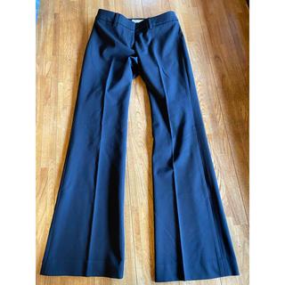 エムプルミエ(M-premier)のM-PREMIER  黒色 パンツ(スーツ)