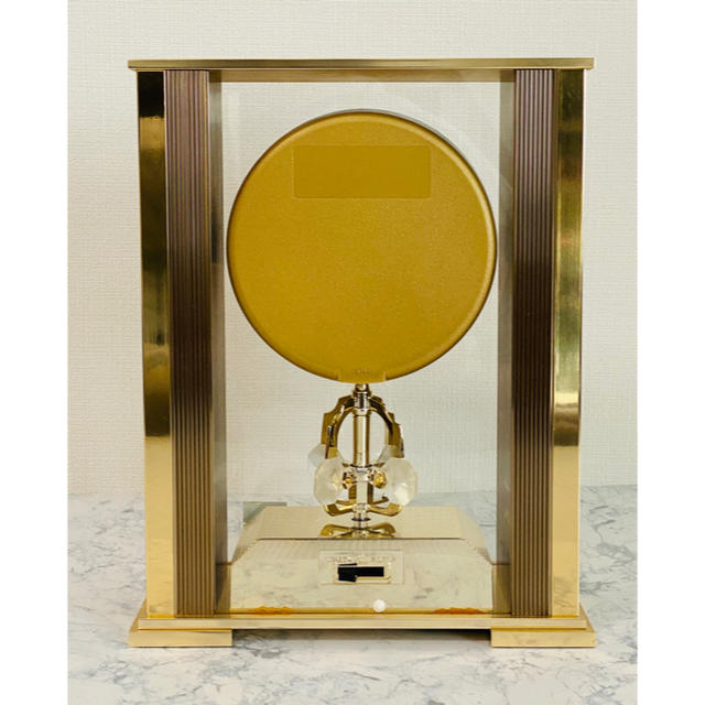 SEIKO(セイコー)の( 美品 )SEIKO( セイコー ) クリスタルガラス 置時計 QZ671G インテリア/住まい/日用品のインテリア小物(置時計)の商品写真