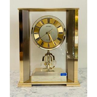 セイコー(SEIKO)の( 美品 )SEIKO( セイコー ) クリスタルガラス 置時計 QZ671G(置時計)