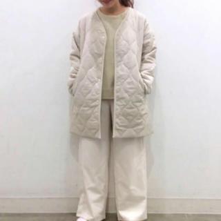 ジーユー(GU)のGU  キルティング コート ジャケット(ダウンコート)