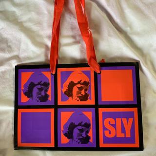 スライ(SLY)のSLY ショッパー(ショップ袋)