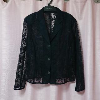 リーブル(Libre)のliblre/フラワー刺繍ジャケット(テーラードジャケット)