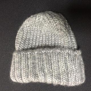 テチチ(Techichi)のニット帽 グレー アクリル100%(ニット帽/ビーニー)