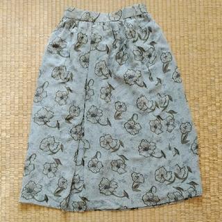 グリモワール(Grimoire)のヴィンテージ 大人花柄スカート(ロングスカート)