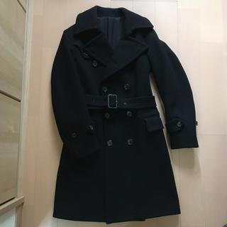 サイ(Scye)の【値下げ・近々終了】scye サイ コート ブラック(ロングコート)