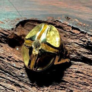 k18 カットダイヤモンド原石 0.928ct 完全オリジナル リング!(リング(指輪))
