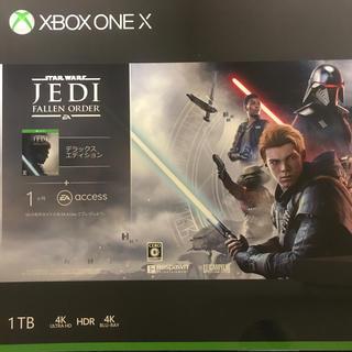 マイクロソフト(Microsoft)のXbox One X 1TB スターウォーズ同梱版 値下げ中(家庭用ゲーム機本体)