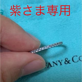 ティファニー(Tiffany & Co.)の【紫さま】専用ティファニー  アクアマリン メトロリング(リング(指輪))