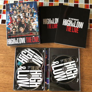 EXILE TRIBE - HiGH&LOW THE LIVE(初回生産限定盤) 3DVD