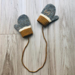 ドルチェアンドガッバーナ(DOLCE&GABBANA)のD&G ジュニア ベビー キッズ ミトン 男女兼用 手袋 出産準備 (手袋)