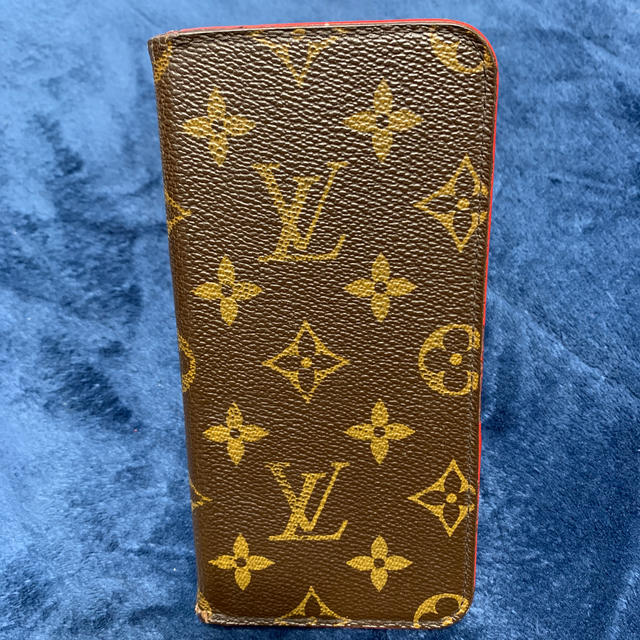 LOUIS VUITTON - LOUIS VUITTON iPhoneケースカバーの通販