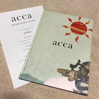アッカ(acca)のacca アッカ 2020 ss バレッタ クリップ などが載った カタログ(その他)