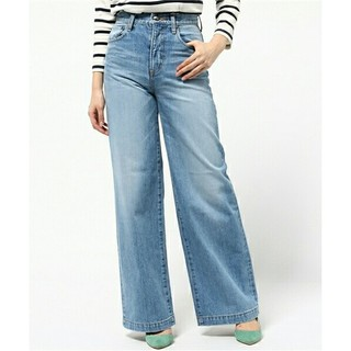 ダブルスタンダードクロージング(DOUBLE STANDARD CLOTHING)のダブスタ ワイドパンツ サイズ:36(デニム/ジーンズ)