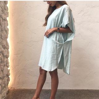 ルームサンマルロクコンテンポラリー(room306 CONTEMPORARY)のShiny Midi Dress(ひざ丈ワンピース)