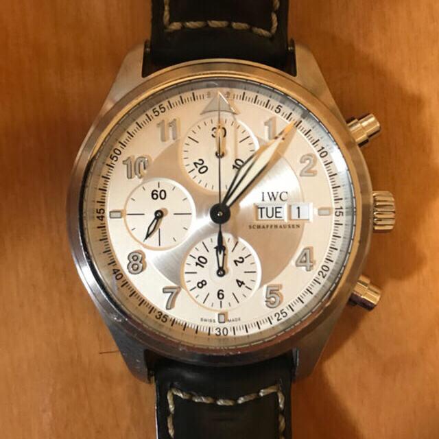 IWC - IWC クロノグラフ 腕時計 スピットファイアの通販