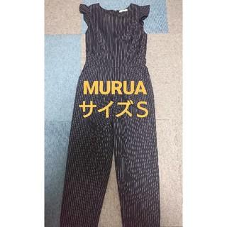 ムルーア(MURUA)のMURUA フリルタンクトップ オールインワン(オールインワン)