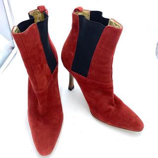 ドルチェアンドガッバーナ(DOLCE&GABBANA)のDOLCE&GABBANA ドルチェ&ガッバーナ パンプス ショートブーツ(ブーツ)