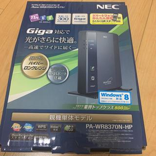 エヌイーシー(NEC)のルーター NEC PA-WR8370N-HP(PC周辺機器)