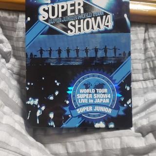 スーパージュニア(SUPER JUNIOR)のSUPER JUNIOR WORLD TOUR SUPER SHOW4 LIVE(ミュージック)