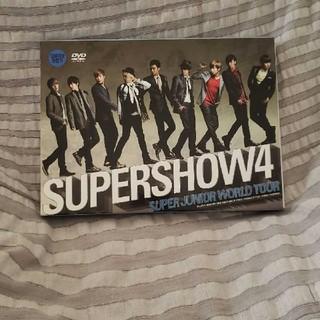スーパージュニア(SUPER JUNIOR)のSuper Junior SUPERSHOW4(ミュージック)