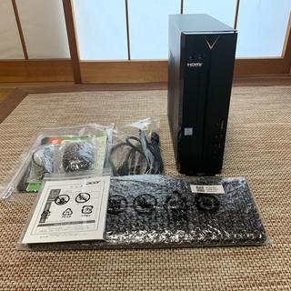 エイサー(Acer)のAcer デスクトップパソコン Aspire XC-885-N58F(デスクトップ型PC)