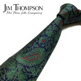 Jim Thompson - 【未使用に近い】JIM THOMPSON ネクタイ ペイズリー柄