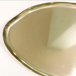 ザラホーム(ZARA HOME)の新品 ZARA HOME ザラホーム ゴールド トレイ トレー(テーブル用品)