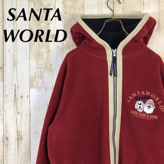 キャプテンサンタ(CAPTAIN SANTA)のSANTAWORLD サンタワールド フリース パーカー 刺繍ロゴ(パーカー)