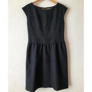 ナノユニバース(nano・universe)のNano universe ブラック ワンピース ドレス (ミディアムドレス)