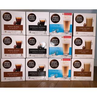 ネスレ(Nestle)のネスカフェドルチェグスト カプセル 12箱 カフェオレなど4種類(コーヒー)