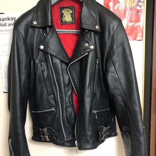666 - ライダースジャケット ロンジャン  666TRIPLESIX 旧タグ