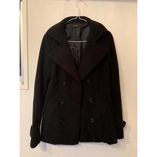 エゴイスト(EGOIST)のEGOIST コート ブラック(ピーコート)