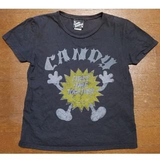 キャンディーストリッパー(Candy Stripper)のcandy stripper 半袖Tシャツ(ミニワンピース)