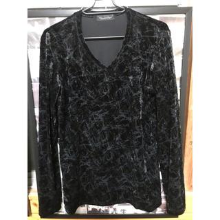トルネードマート(TORNADO MART)のTORNADO MART ベロアカットソー Mサイズ 即購入⭕️✨(Tシャツ/カットソー(七分/長袖))
